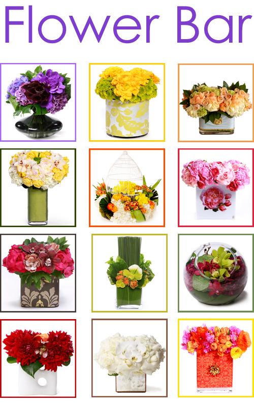 Floral Bar Board 3