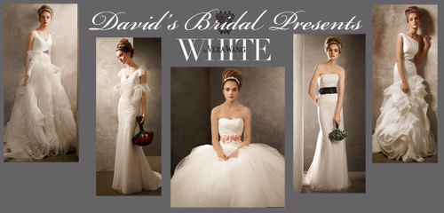 Vera Wang has designed a line for David 39s Bridal The wedding dresses by